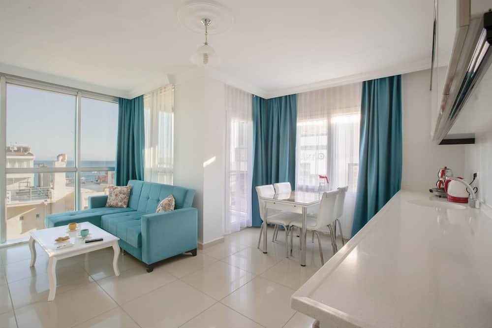 Apartment, 1 Bedroom, Sea View - Living Room
