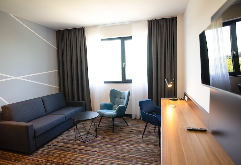 City Hotel Neumarkt, Neumarkt in der Oberpfalz, Rodinná dvojlôžková izba, Obývacie priestory