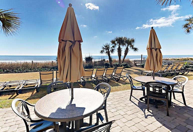 Beachfront Grande Cayman W/ Pools, Gym & Waterpark 3 Bedroom Condo, Myrtle Beach, Mieszkanie, 3 sypialnie, Balkon