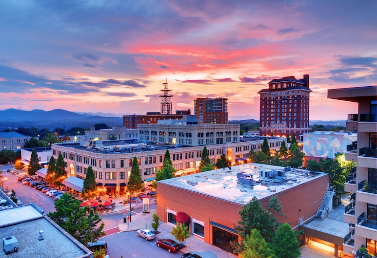 Chic : Walk To Dining, Shops, Entertainment 1 Bedroom Condo, Asheville, Condo, 1 Bedroom, Exterior