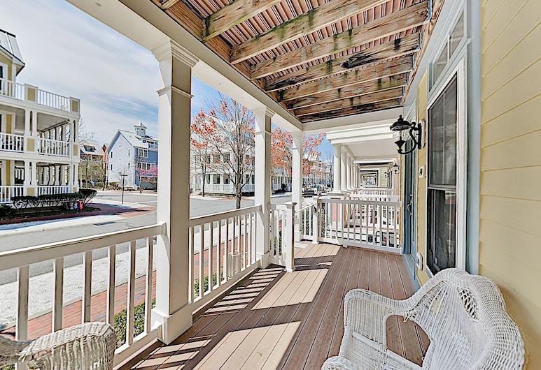 Bay Breeze On Sunset Island 6 Blocks To Ocean 5 Bedroom Townhouse, Ocean City, Stadtwohnung, 5Schlafzimmer, Balkon