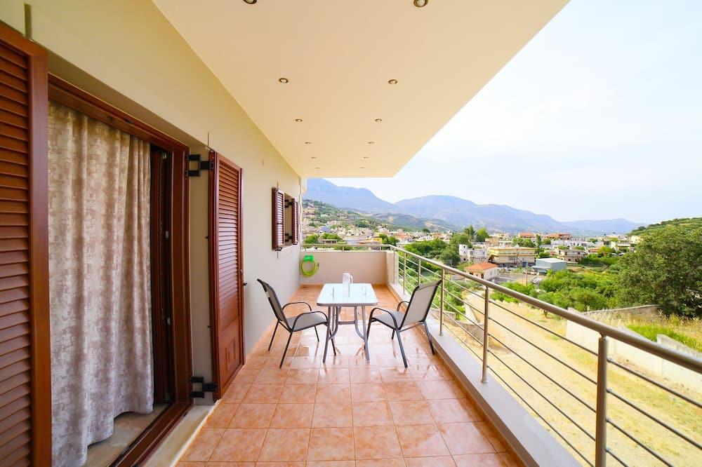 Lägenhet Superior - 2 sovrum - balkong - utsikt mot bergen (A5) - Balkong