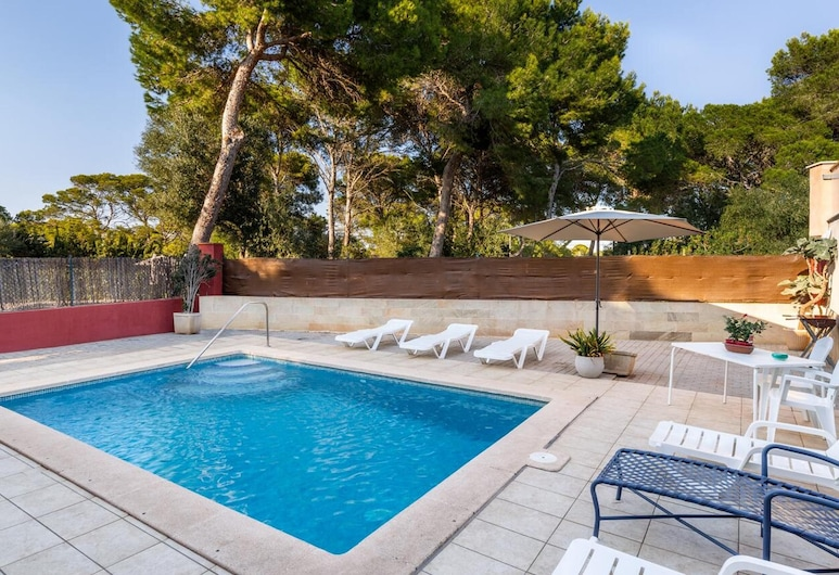 House With 3 Bedrooms in Llucmajor, With Wonderful sea View, Private Pool, Furnished Terrace - 500 m From the Beach, Llucmajor, Pool