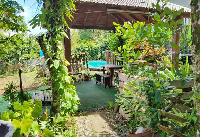 Apartment With 3 Bedrooms in Sainte-rose, With Wonderful sea View, Shared Pool, Enclosed Garden - 8 km From the Beach, Sainte-Rose, Garden