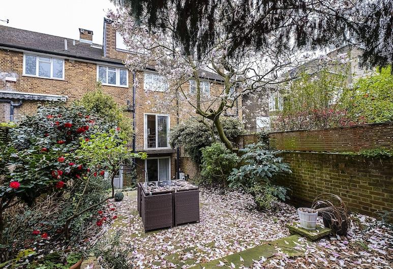 The Porchester Gardens - Modern & Bright 4bdr With Garden and Parking, Londýn, Záhrada