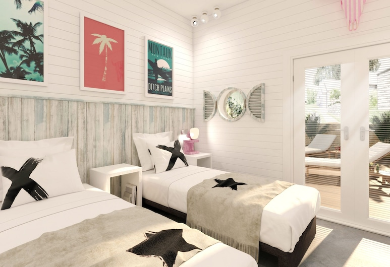 Three Mile Beach, Hayle, Chalet Premium, Chambre