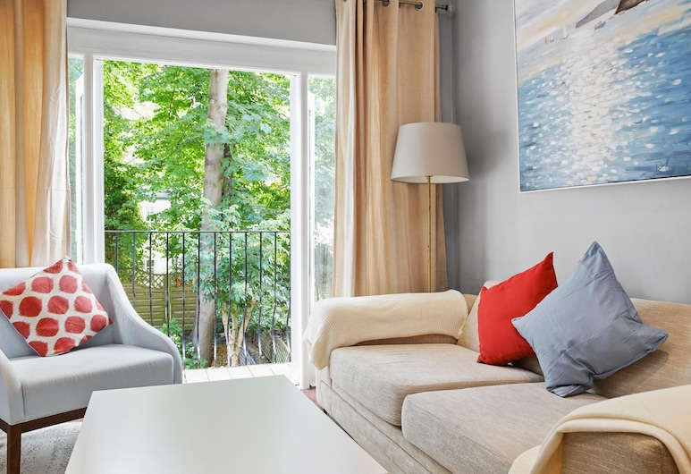 Kensington Heart of London Comfortable Serviced Apartments, Лондон, Апартаменти преміум-класу, 2 спальні, Житлова площа