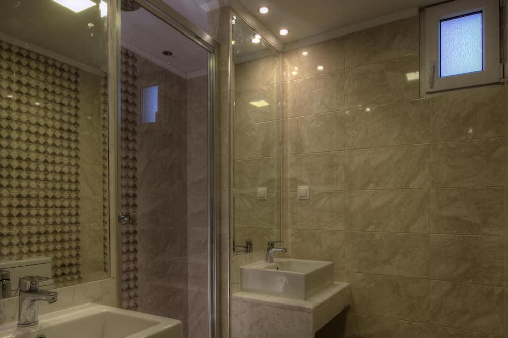 Deluxe-huvila, 2 makuuhuonetta, Merinäköala - Kylpyhuone