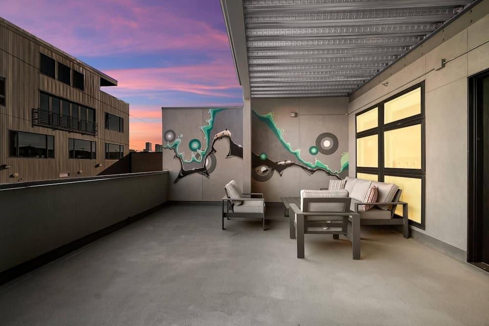 Hús - mörg rúm - borgarsýn (RiNo Art Lofts - Stunning Colorful Mo) - Svalir