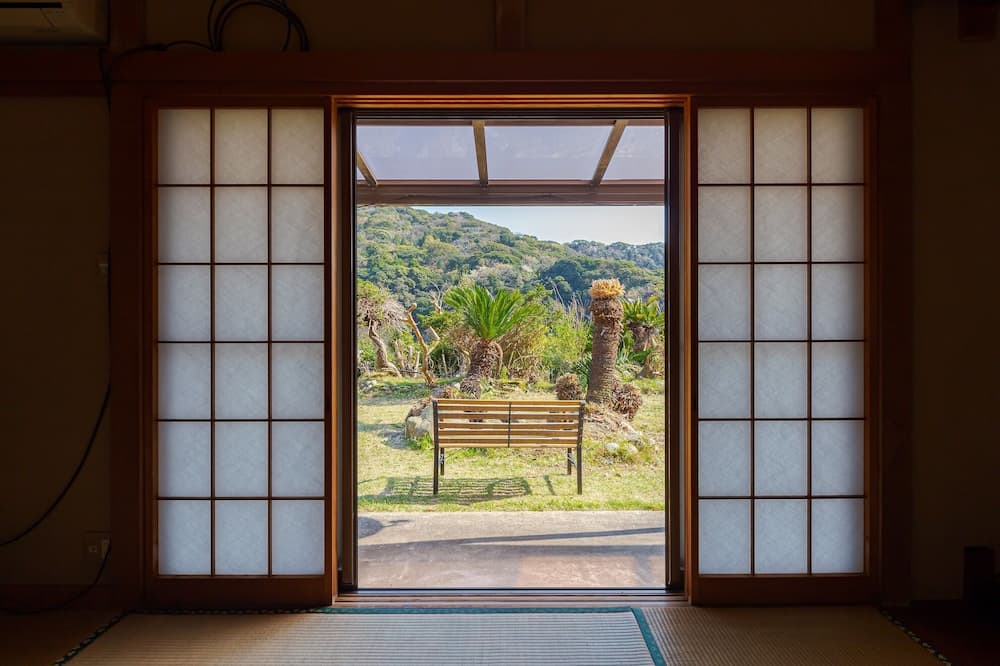 Tradicionális ház (Japanese Style Private Vacation Home) - Kilátás a kertre