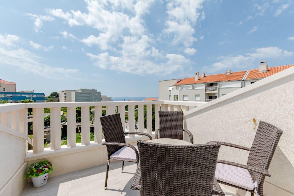 Apartamento, Vista Mar - Terraço/Pátio Interior