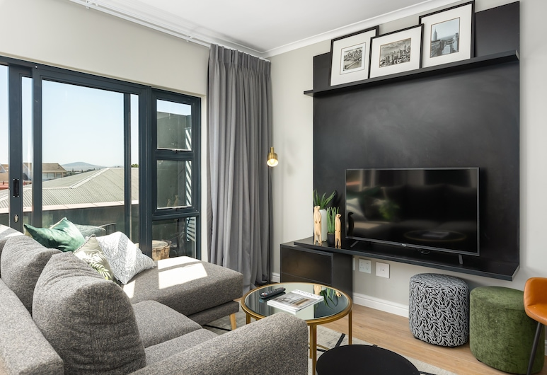 Cape On Porterfield 9, Cape Town, Luxury Apartment, Living Room