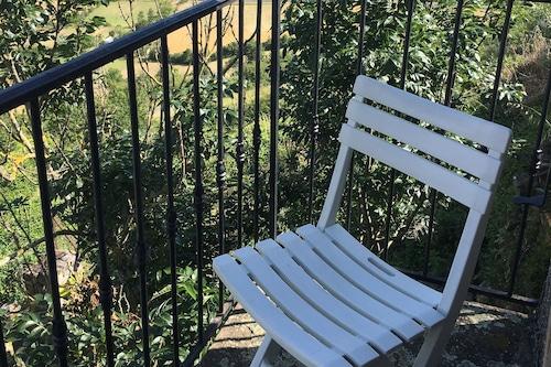 Vue,terrasse,balcon,calme,hameau,tour