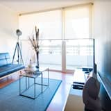 Apartment, 1 Double Bed, Private Bathroom - Living Area