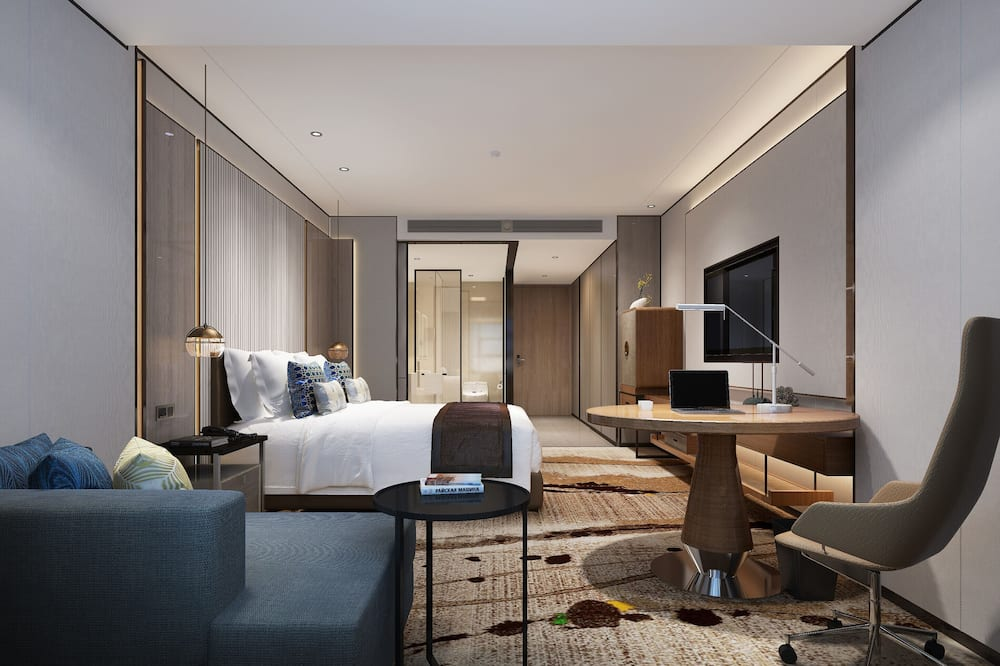Business Double Room - Living Room