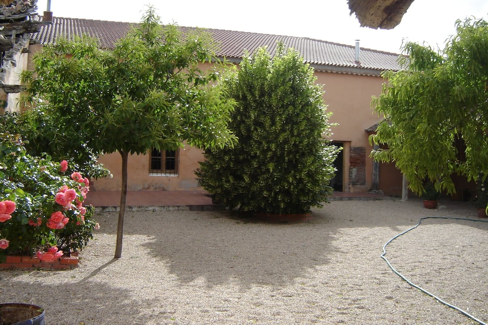 Casa de campo familiar, 3 habitaciones - Vista al patio