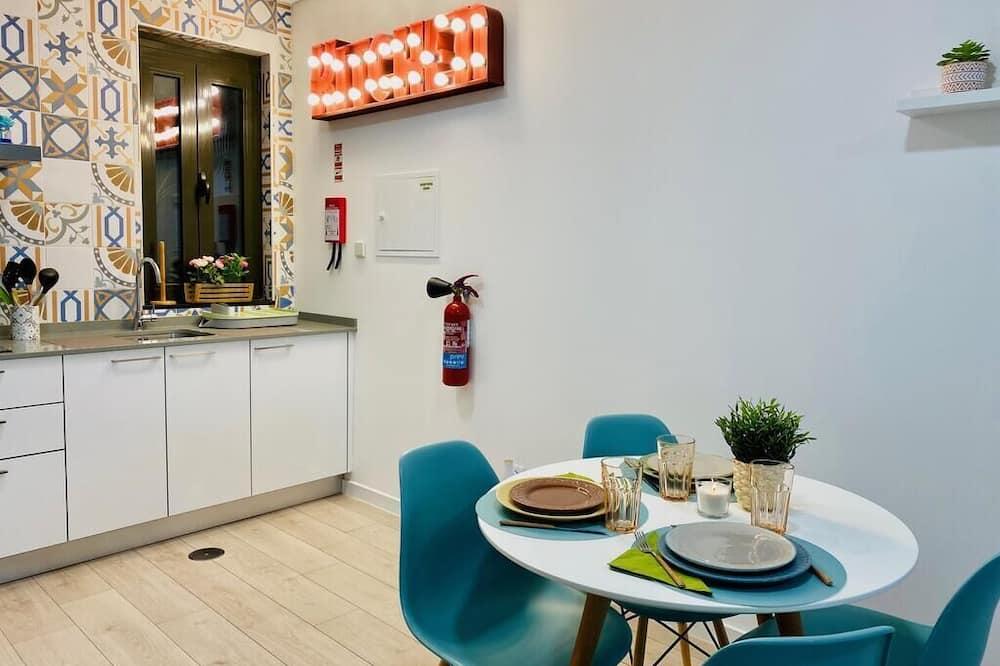 Pokoj typu Basic, smíšený pokoj v ubytovně - Společná kuchyně