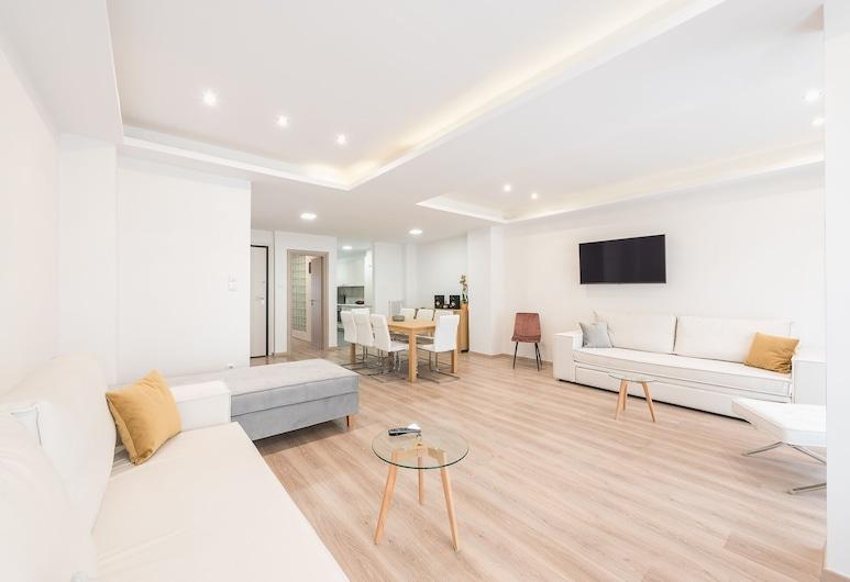 Athens Crystal Suites Apartments, Athene, Appartement, 2 slaapkamers, Woonruimte