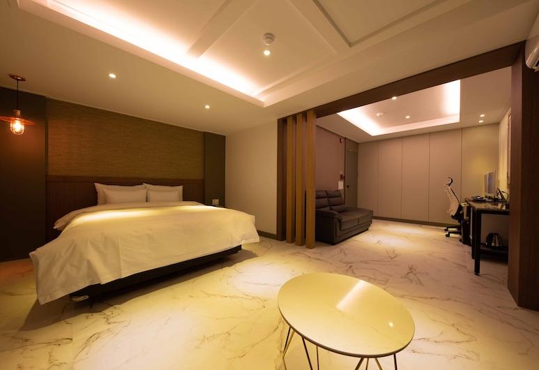 Hotel Momo, Daejeon, Modern Sweet, Guest Room