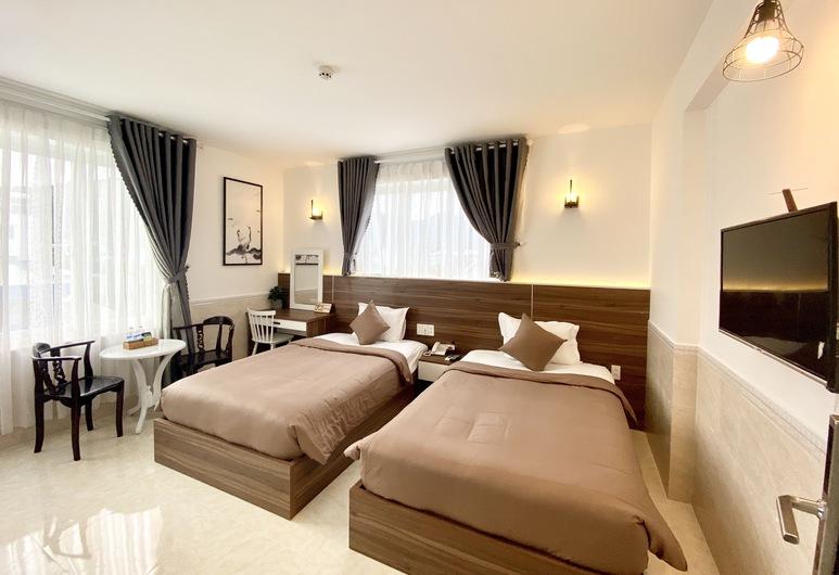 Tuan Ninh Hotel, 昆山, 標準雙床房, 客房