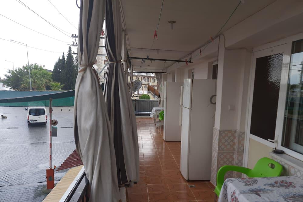 Keturvietis kambarys šeimai - Balkonas