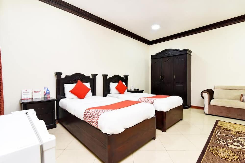 Eenvoudige eenpersoonskamer, 1 slaapkamer - Badkamer