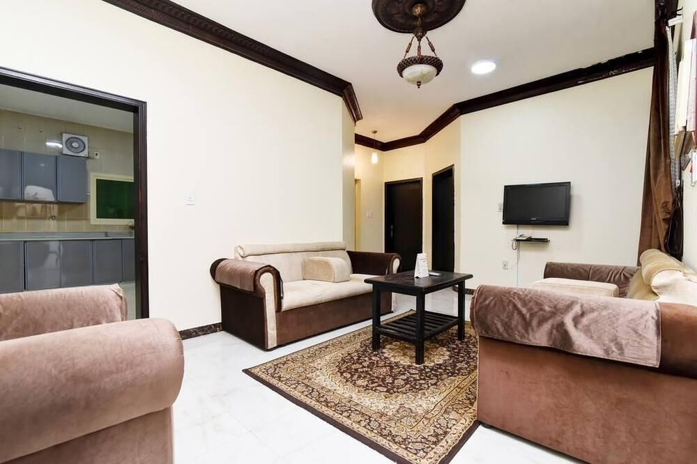 Eenvoudige eenpersoonskamer, 1 slaapkamer - Woonruimte