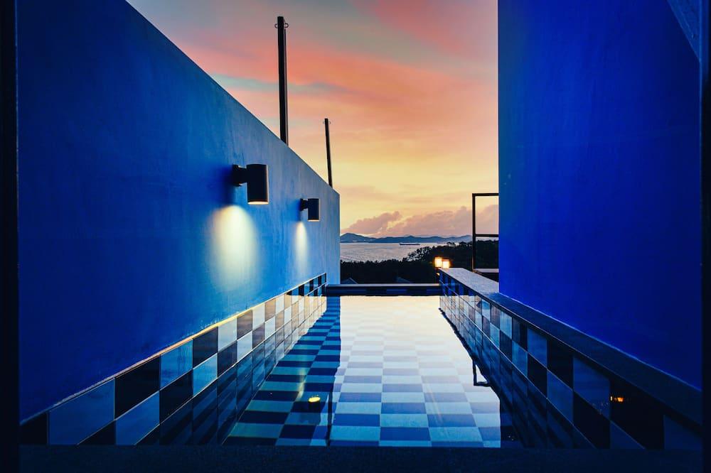 Værelse (Blue) - Privat pool