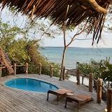 Studio Junior - utsikt mot stranden - Terrass