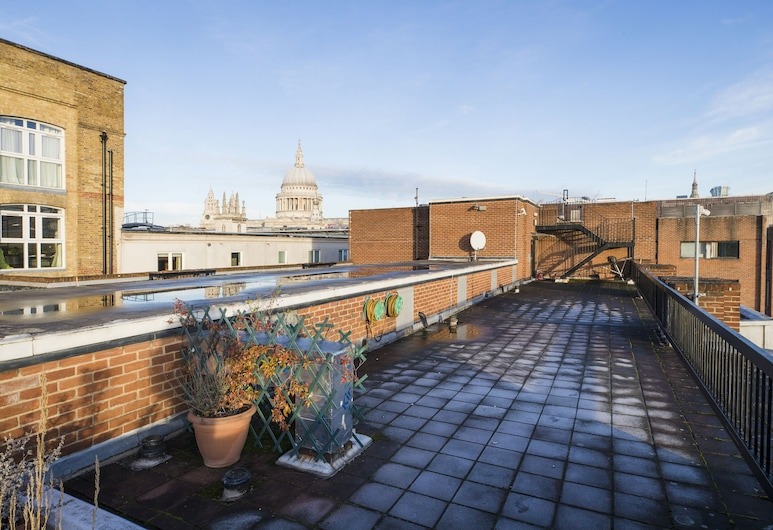 Sublime 1 bed flat with Thames view, Londyn, Taras/patio