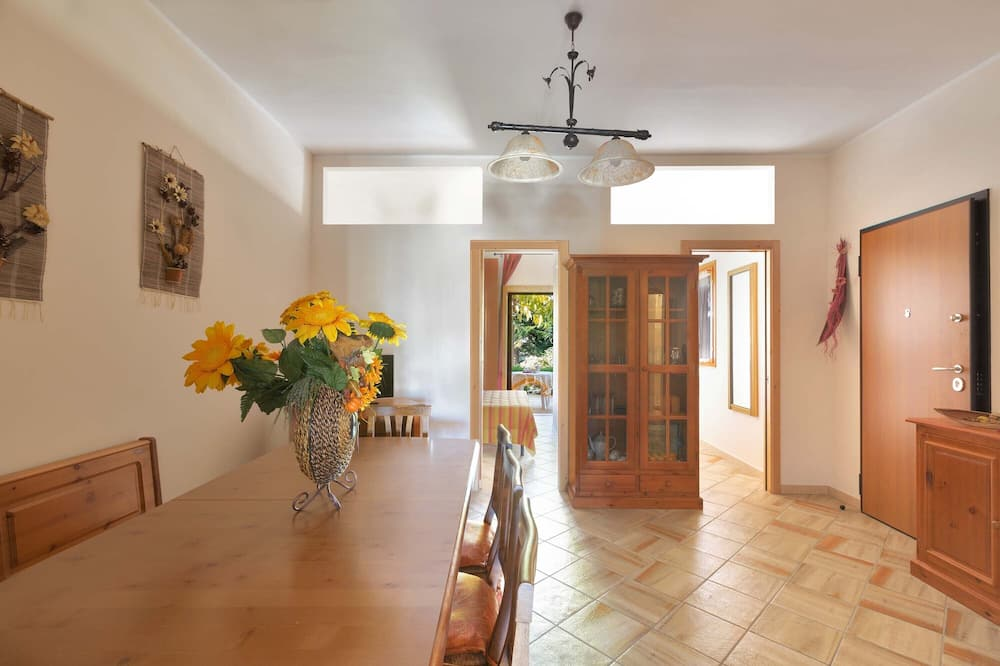 Standard apartman, 2 hálószobával, földszinti - Nappali rész