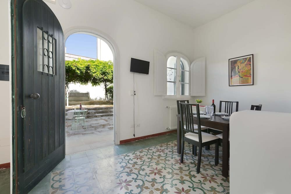 Standardni apartman, 1 spavaća soba, prizemlje (Bilo Piano Terra) - Dnevni boravak