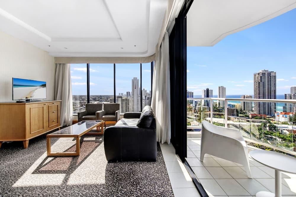 Apartmán, 1 spálňa - Obývacie priestory