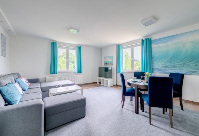Dom & House - Apartments Haffnera Sopot, Sopot, Classic-Apartment, Wohnbereich