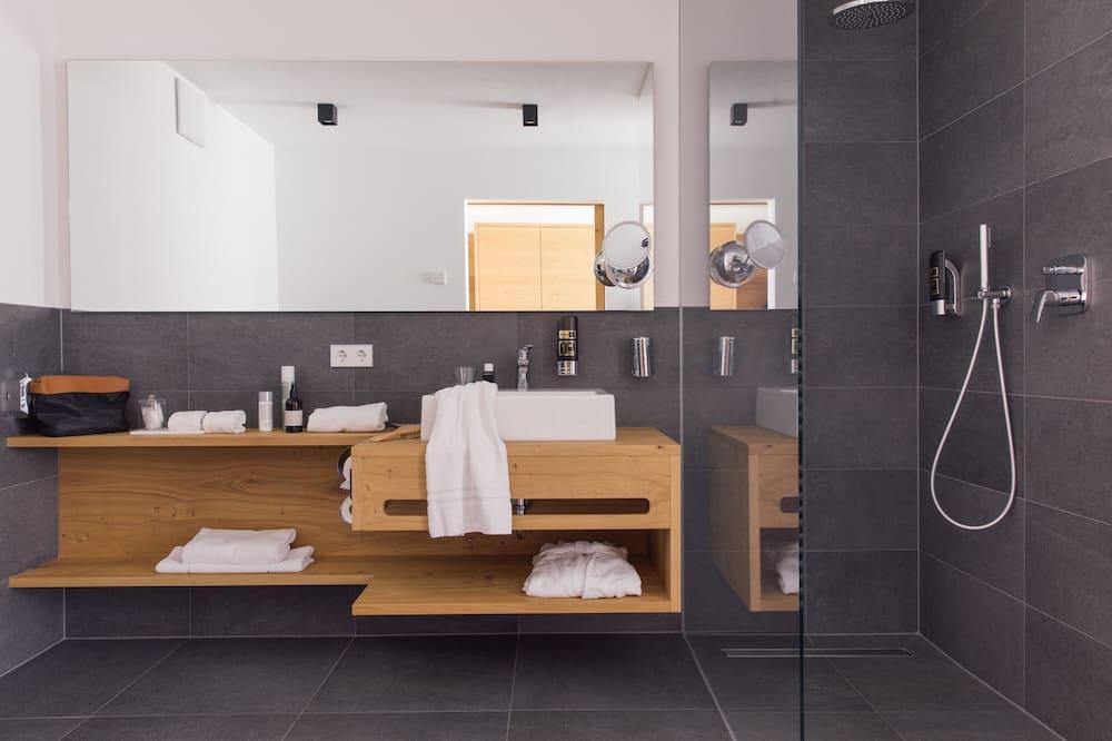 Habitación doble superior (Ortler) - Baño