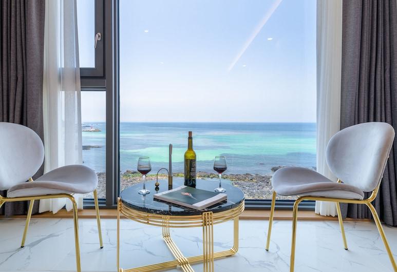 MERBLEUE, Jeju City, Suite estudio familiar, Vista a la playa o el mar