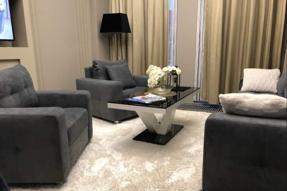 Apartemen Desain - Ruang Keluarga