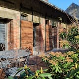 חדר קומפורט זוגי או טווין, טרסה (Fleurs des champs) - גינה