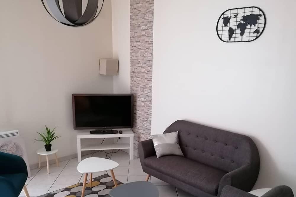 Domek, 3 ložnice - Obývací pokoj