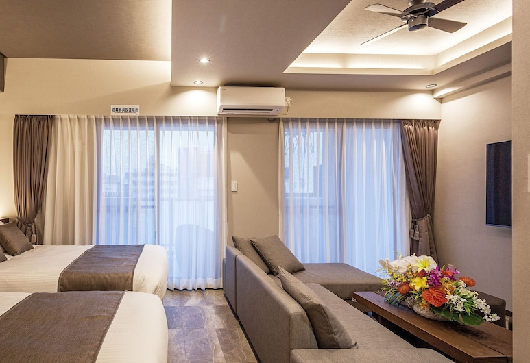 Kariyushi Condominium Resort Naha GSA, Naha, Süit (Gran Suite), Oda