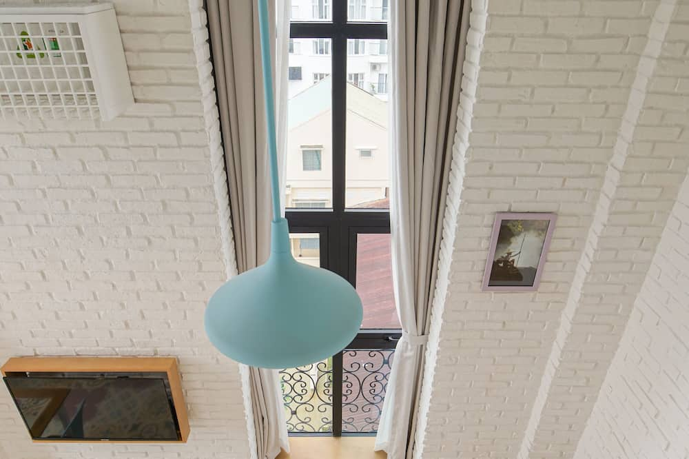 ห้องพัก (LiefStyle Suite) - พื้นที่นั่งเล่น