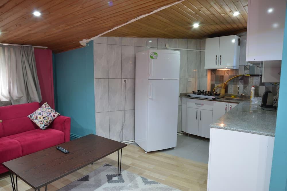 Išskirtinio tipo apartamentai - Svetainė