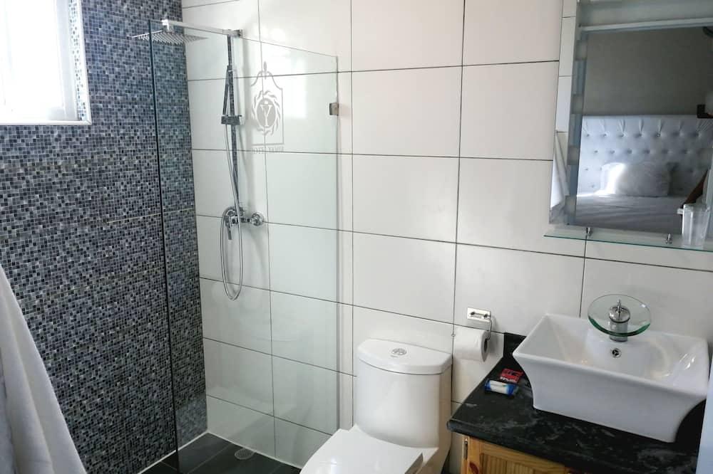 Comfort-Doppelzimmer, 1 Queen-Bett - Badezimmer