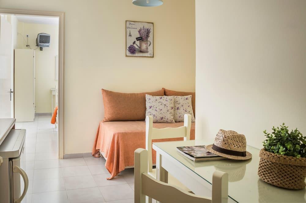Appartamento, 1 camera da letto, al piano terra - Area soggiorno