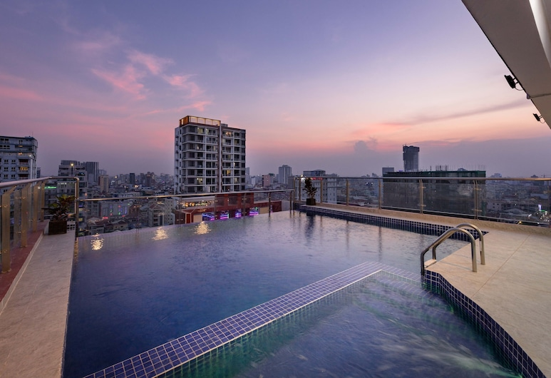 SOHO Residence, 金邊, 天台泳池