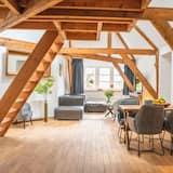 Apartamento de Luxo (7 & 8) - Área de Estar