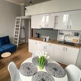 Apartament typu Studio, widok na rzekę (1A) - Powierzchnia mieszkalna