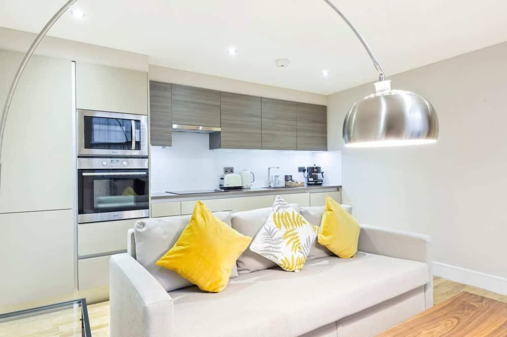 Căn hộ (2 Bedrooms) - Phòng khách