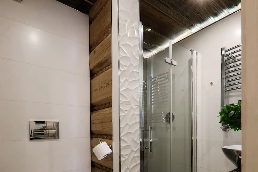 Апартаменты, 2 спальни, гидромассажная ванна - Ванная комната