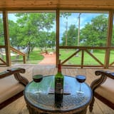 Talo (3 Acre's of Luxury and Views in Fred ) - Parveke